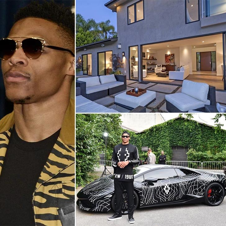 Russell Westbrook Cars >> Athletes Houses Cars Everything Luxurious That Make