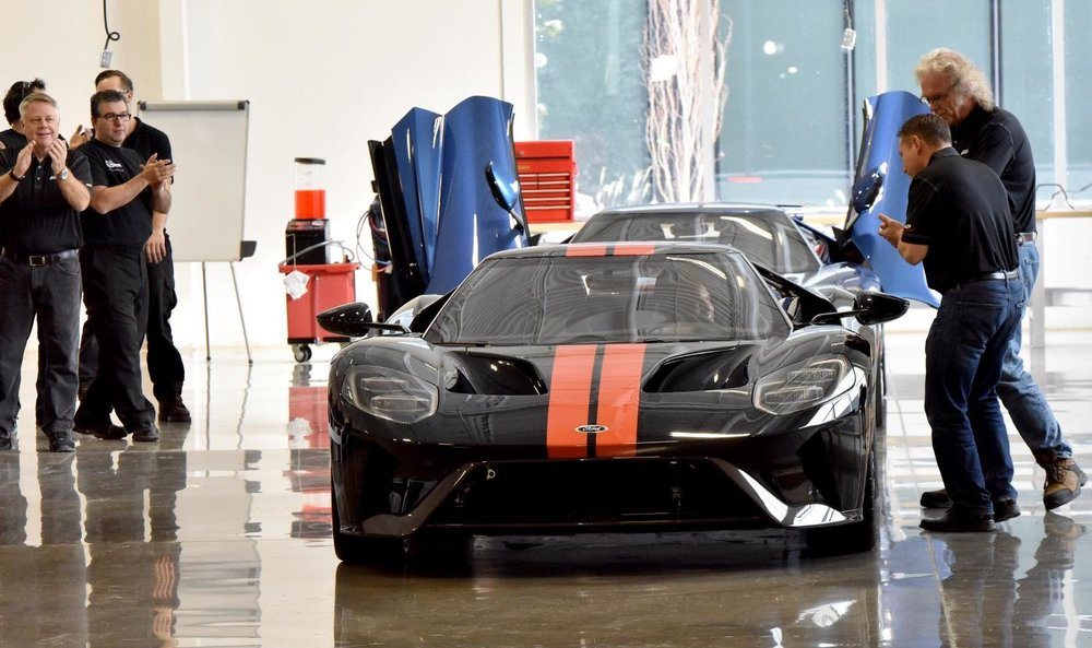 The Canadian supplier Multimatic is the one who built and produced Ford's GT supercars.