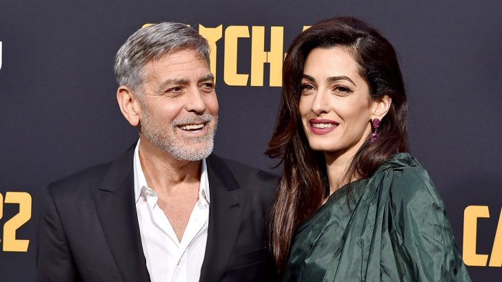 George Clooney reveals meeting her wife, who is a human rights lawyer, became their main selling point.