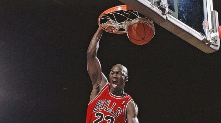 Michael Jordan has nailed his name as one of the legendary players in the NBA.