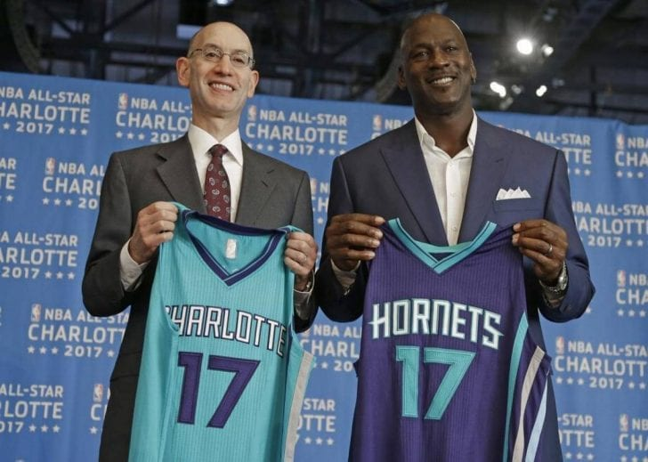 As of this writing, Charlotte Hornets' franchise value now climbs to a staggering $1.25 billion.