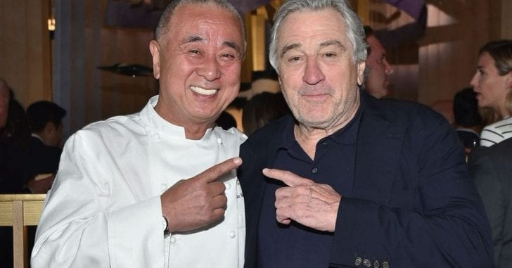 DeNiro and Nobu have been business partners for more than three decades.